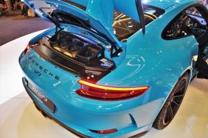 Porsche 911 GT3 Engine Cover Up, Malaysia 2017