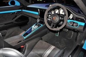 Porsche 911 GT3 Interior, Dashboard, Malaysia 2017