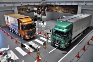UD Trucks Extra Mile Challenge 2017 Pre-Inspection Arena, Quester & Quon