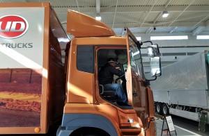 UD Trucks Extra Mile Challenge 2017 Anuar Bin Ahmad, Pre-Drive Inspection, Quester