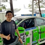 Brendon Lim managed to change his gearbox in time to take second place in the Sporting Category Race.