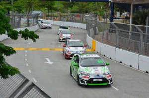 Brendon Lim being chased by Tam and Brendan Paul