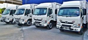 Hino 300 Series Truck, My World Logistics, Malaysia 2017