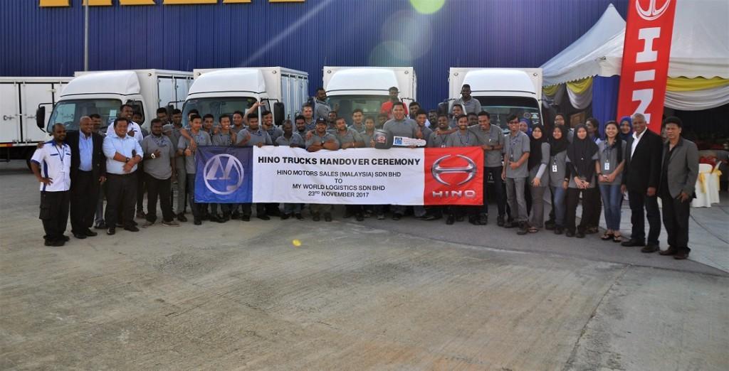 Hino Malaysia, My World Logistics, Truck Handover 2017