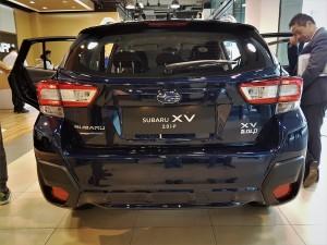 Subaru XV 2.0i-P Rear View, Motor Image Malaysia 2017