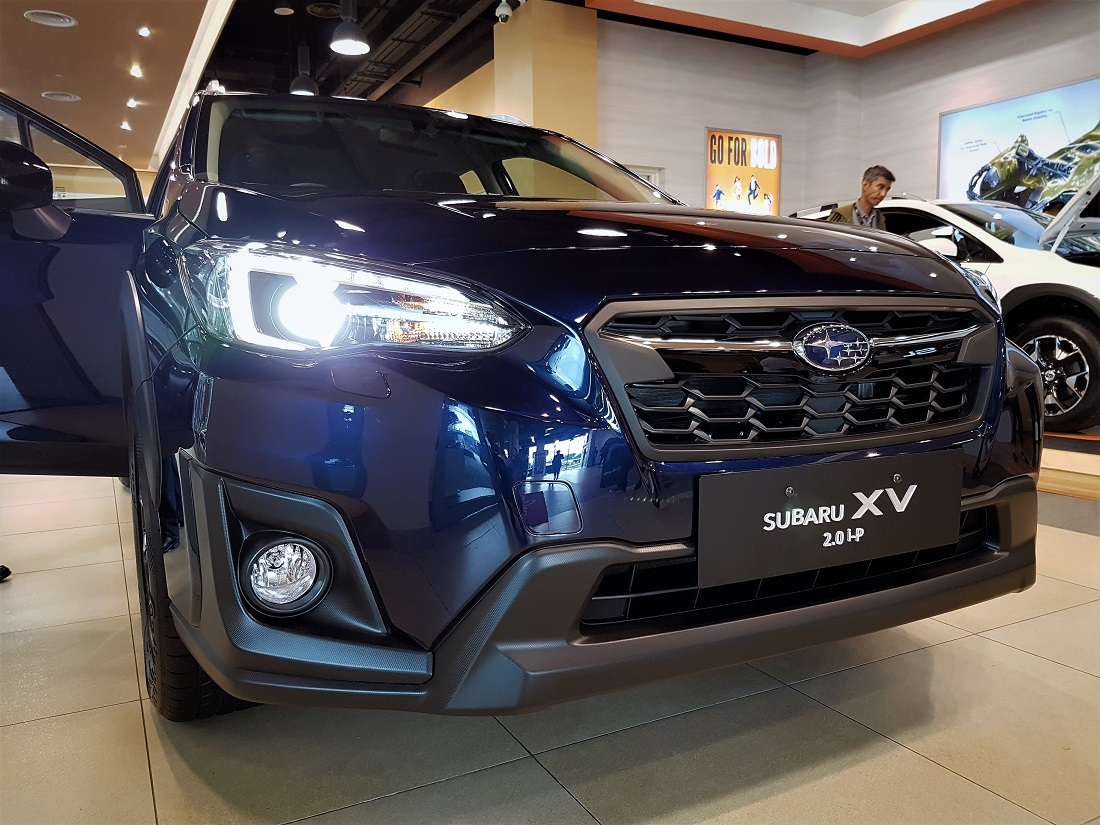 all new subaru xv launched in malaysia. Black Bedroom Furniture Sets. Home Design Ideas