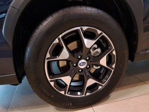 Subaru XV 17 Inch Light Alloy Wheel, Malaysia Launch 2017