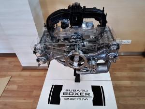 Subaru Boxer Engine, Motor Image Malaysia
