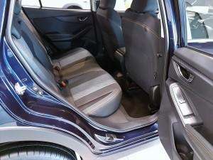 Subaru XV Rear Seat, Malaysia Launch 2017