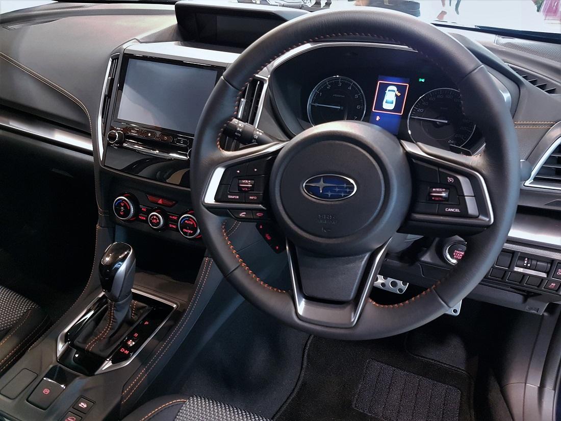 Subaru Xv 2 0i P Cockpit Malaysia Launch 2017 Autoworld Com My