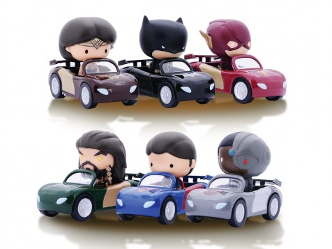 Caltex JOURNEY Card Promo : Limited Edition Justice League Cars