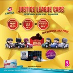 Caltex JOURNEY Card, B Infinite Card Promotion - Justice League Mini Cars, Limited Edition - Malaysia 2017