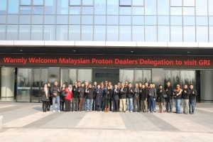 Key Proton Dealers Visited Geely Research and Geely Dealerships in China