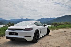 Porsche 718 Cayman Rear Malaysia 2017