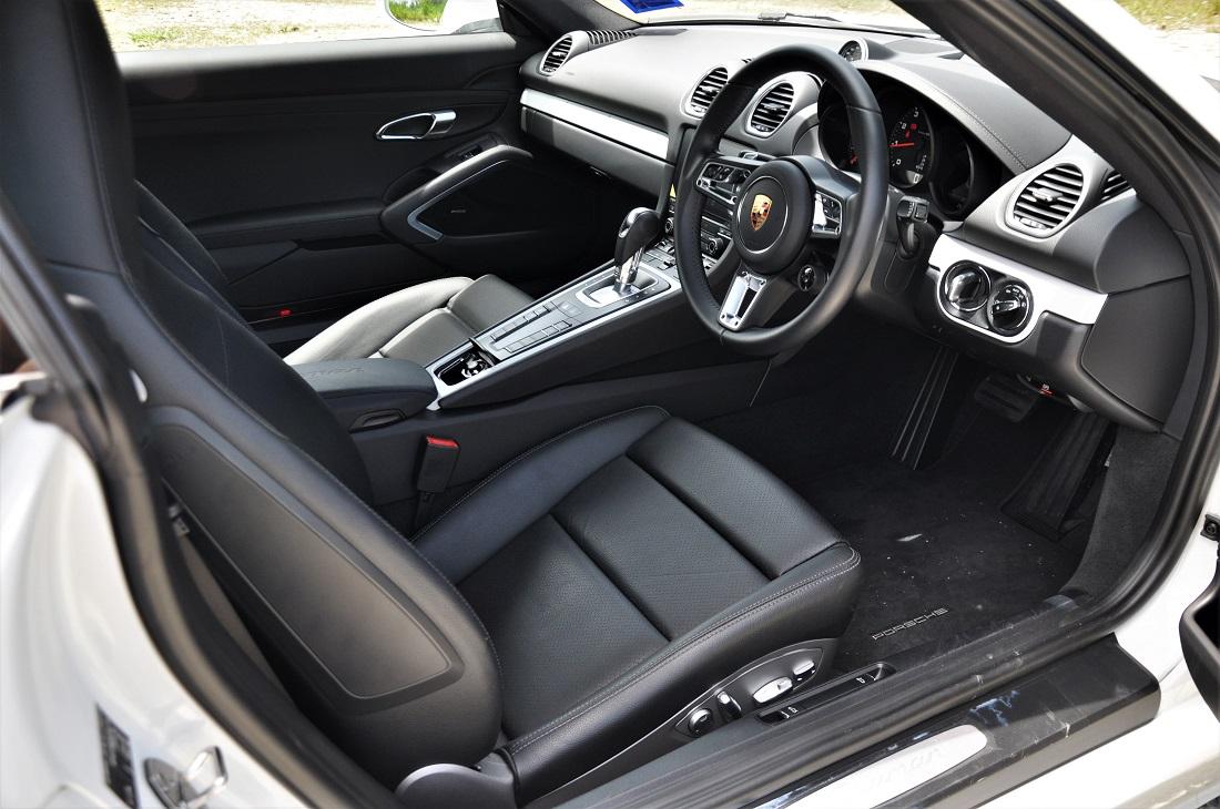 Test Drive Review Porsche 718 Cayman