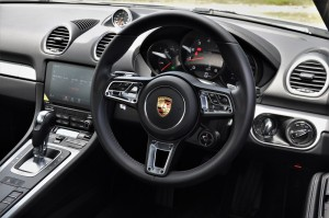 Porsche 718 Cayman Cockpit, Malaysia 2017