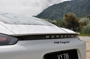Porsche 718 Cayman Tail, Malaysia 2017