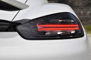 Porsche 718 Cayman 3-D Tail Light, Malaysia 2017