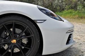 Porsche 718 Cayman Nose Side View, Malaysia 2017