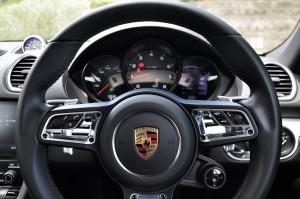 Porsche 718 Cayman Steering Wheel, Malaysia 2017