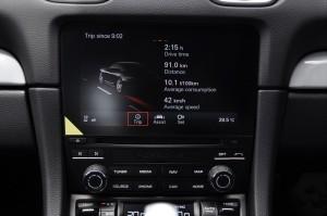 Porsche 718 Cayman Touchscreen Display, Malaysia 2017
