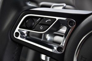Porsche 718 Cayman Steering Controls 1, Malaysia 2017