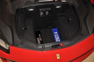 Ferrari 488 GTB Front Cargo Compartment, Malaysia 2017