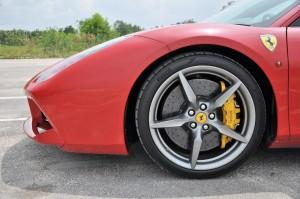 Ferrari 488 GTB Front Side View, Malaysia 2017