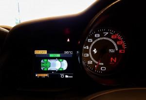 Ferrari 488 GTB Info Display CT Off, Malaysia