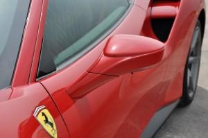 Ferrari 488 GTB Side Mirror, Malaysia 2017