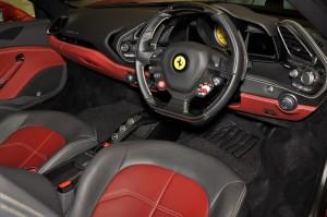 Ferrari 488 GTB Cockpit, Malaysia 2017