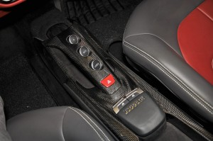 Ferrari 488 GTB Gear Buttons, Centre Console, Malaysia 2017