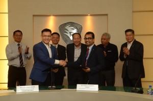 Proton Dealer Network Upgrade, Bunga Raya Auto Credit Sdn Bhd Malaysia