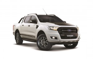 Ford Ranger FX4 Cool White Limited Edition_Front - Malaysia 2018