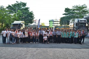 Volvo Trucks Malaysia, See And Be Seen, Scouts, INTI College Volunteers, Volvo FH