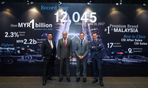 Mercedes-Benz Malaysia 2017 Financial Results, Record Sales