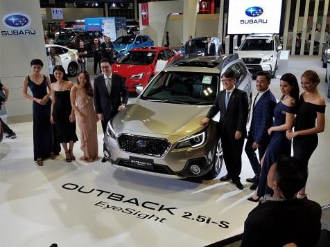 Motor Image Launches Subaru Outback & XV With EyeSight At Singapore Motor Show 2018