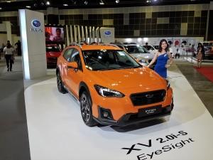 Subaru XV With EyeSight, Singapore Motor Show 2018