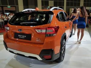 Subaru XV With EyeSight Rear View, Singapore Motor Show 2018