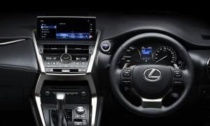 Lexus NX 300 Dashboard, Malaysia 2018