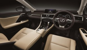 Lexus RX 350L Dashboard - Malaysia 2018