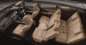 Lexus RX 350L 7 Seats Interior, Malaysia 2018