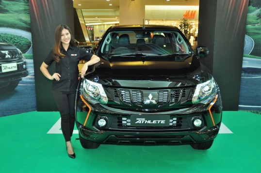 Mitsubishi Triton Athlete 4x4 Pickup Truck Launched