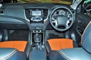 Mitsubishi Triton Athlete Interior, Cockpit, Malaysia 2018