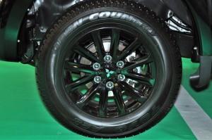Mitsubishi Triton Athlete 17 Inch Black Alloy Wheels, Malaysia 2018