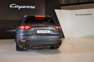 Porsche Cayenne Preview 2018, Rear View, Malaysia