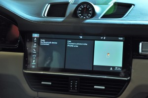 Porsche Cayenne Touchscreen Display, 2018 Malaysia Preview