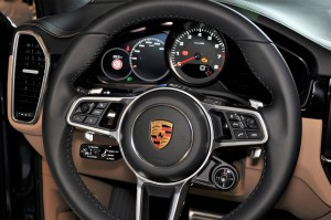 Porsche Cayenne S Steering Wheel, Malaysia Preview 2018