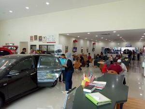 Perodua 3S Centre, Yusmanida Auto interior, Lounge & Showroom - Malaysia