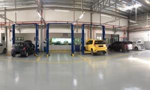 Perodua 3S Centre Yusmanida Auto service bays, Saujana Utama, Sungai Buloh, Malaysia